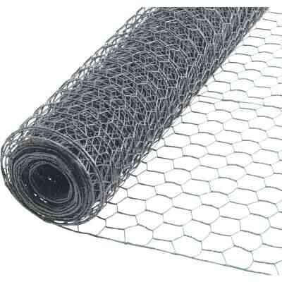 1/2 In. x 24 In. H. x 10 Ft. L. Hexagonal Wire Poultry Netting