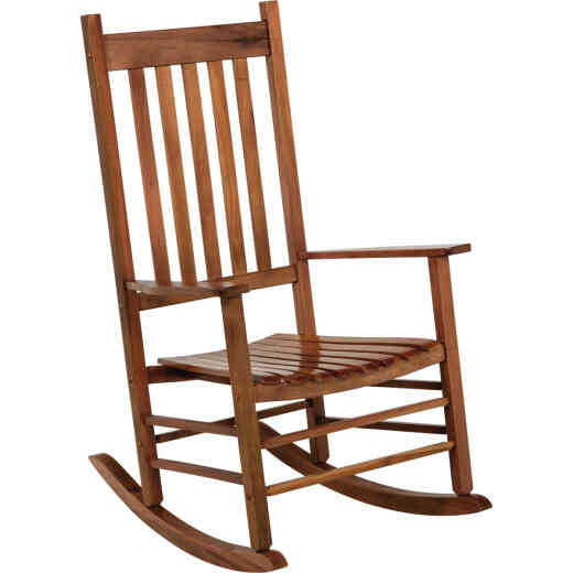 Jackpost Natural Wood Mission Rocking Chair